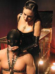 Sharina With Slave By Cage