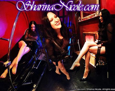 Sharina Nicole BDSM Sessions