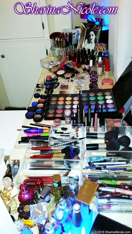 Fully equipped for CD, TS, TV, make-up, lipstick, eyeshadow, blushes, mascara, eyeliner, lip liner, lipstick, nail polish, perfume, lingerie, clothing, wigs, shoes, and more!