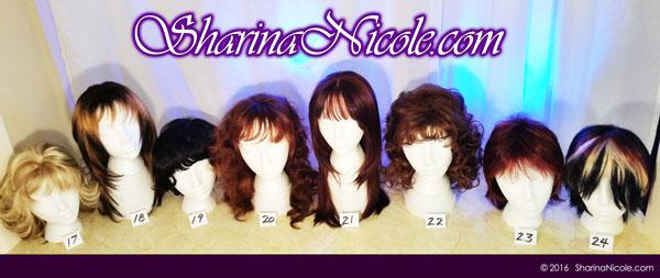 Minneapolis dominatrix Mistress Sharina Nicole's Crossdressing Wigs 17-24
