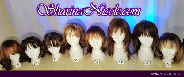 Minneapolis dominatrix Mistress Sharina Nicole's Crossdressing Wigs 9-16