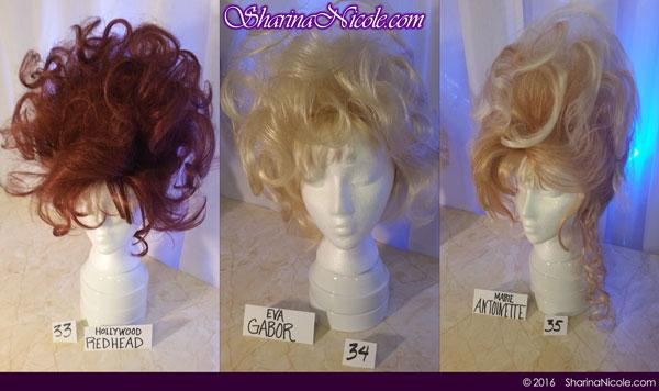 Minneapolis dominatrix Mistress Sharina Nicole's Crossdressing Wigs 33-35