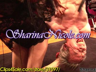 Tickled & Strung Upside-Down by His Ankles