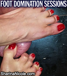 Foot Domination Sessions