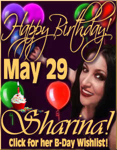 Happy Birthday Mistress Sharina Nicole May 29th, 2017