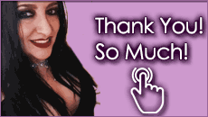 Mistress Sharina Nicole Birthday Thank You - So Many Thanks & So Much Birthday Gratitude! Thank you for making my birthday so special! -M Sharina Nicole