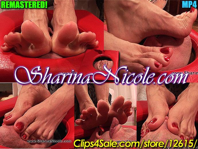 Smother FootBox Punishment Pour un Pathetic Greedy Foot Sniffer Sneak