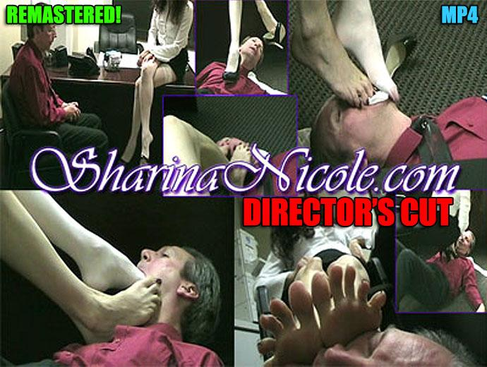 Forced Foot Worship Cock Tease - DIRECTOR'S CUT