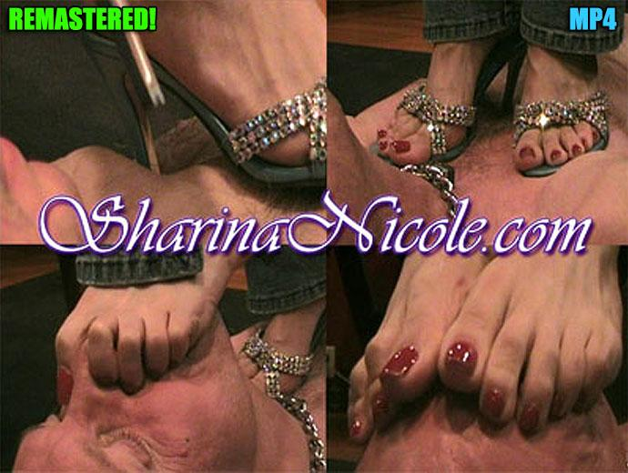 Trampeln und erzwungener Fuß riechen (Teil 1)