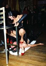 Foot Fetish Olympics June, 2002 in Chicago, Illinois. The event was held at the Spy Bar.
