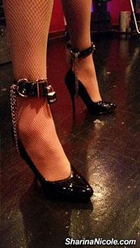 Mpls, MN Crossdresser Forced Feminization locking high heels