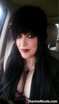Mpls Mistress Sharina Nicole bundle up for Winter!