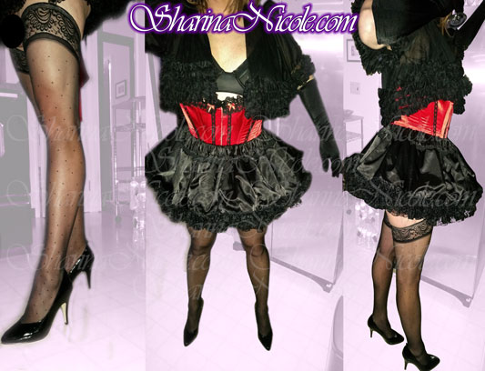 crossdressing feminization session and nightclub outing with Dominatrix Mistress Sharina Nicole in Minneapolis, MN