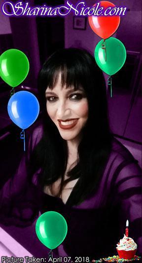 Happy Birthday Mistress Sharina Nicole