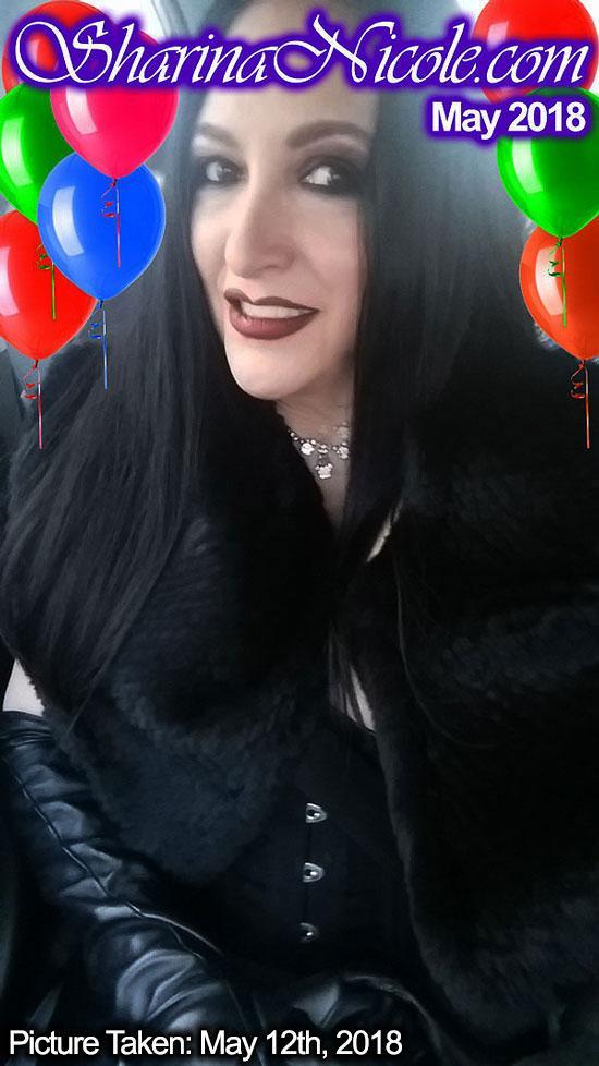 Happy Birthday Mistress Sharina Nicole May29!